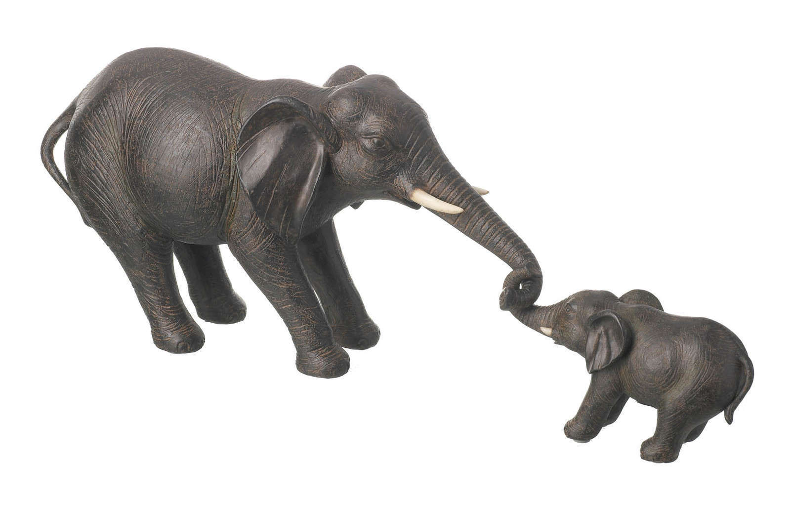 Elephant And Baby Ornament 2 PIECESFREE UK DELIVERY