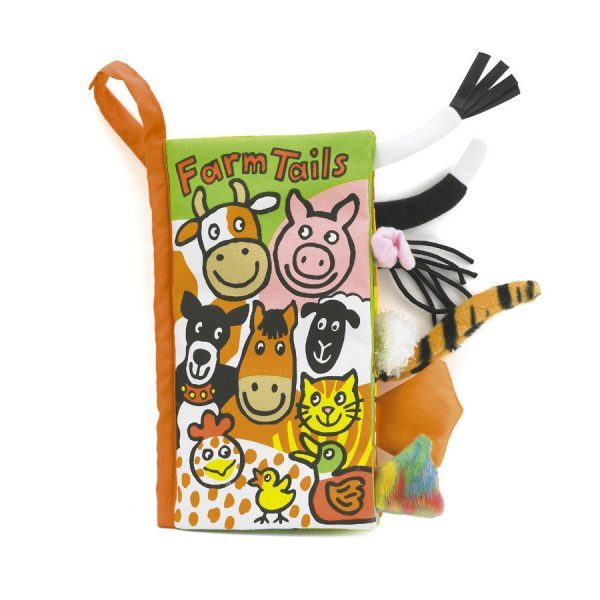 Jellycat Farm Tails Book