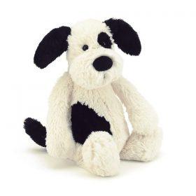 Jellycat Bashful Black and White Puppy Medium
