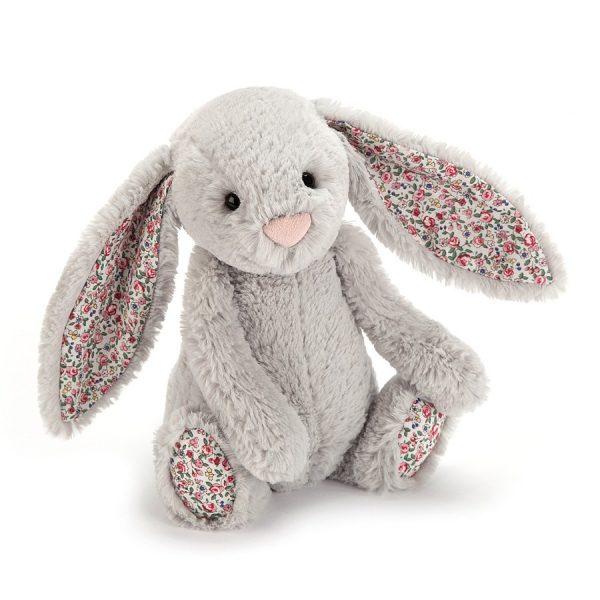Jellycat Blossom Silver Bunny Medium Buy Online At