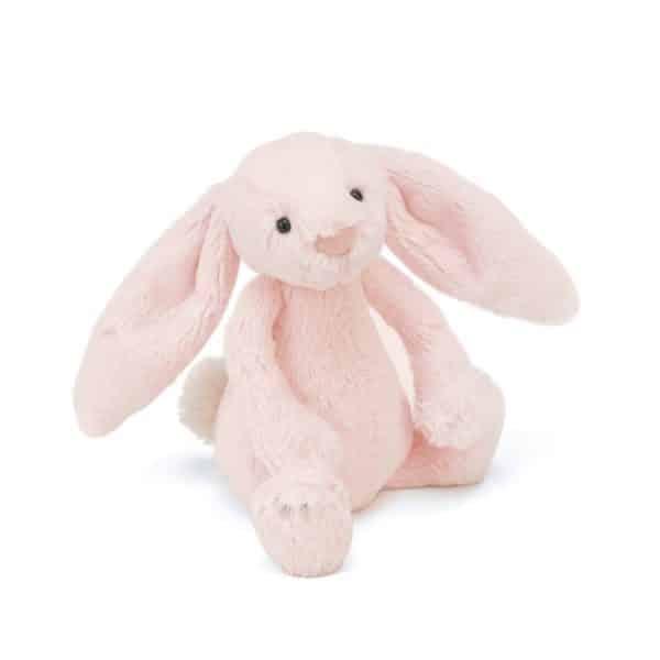 Jellycat Bashful Pink Bunny Rattle SBB444P