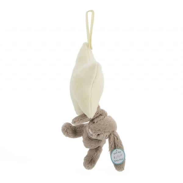 Jellycat Beige Bunny Star Music Pull BAMS4BB_1