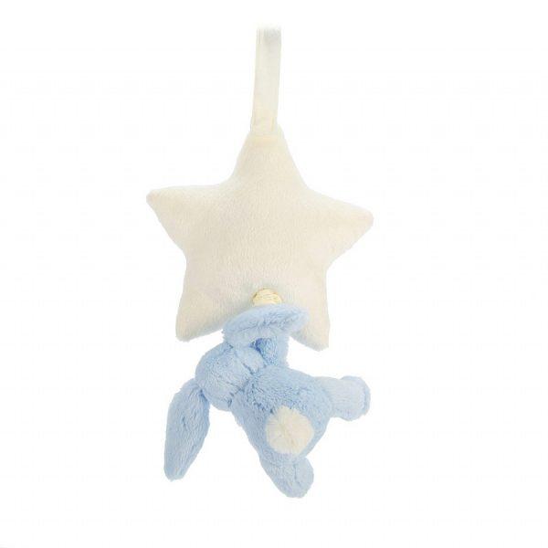 Jellycat Blue Bunny Star Music Pull BAMS4BBL_2