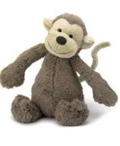 Jellycat Bashful Monkey Small BASS6MK