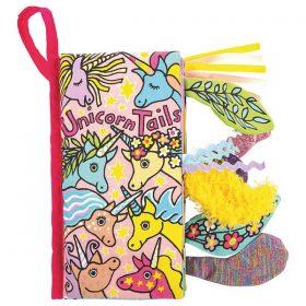 Jellycat Unicorn Tails Book BK4UT