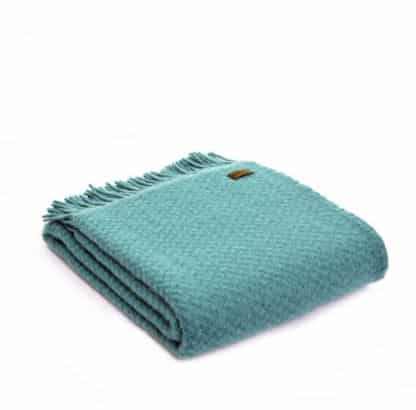 Tweedmill Lifestyle Wafer Throw Jade