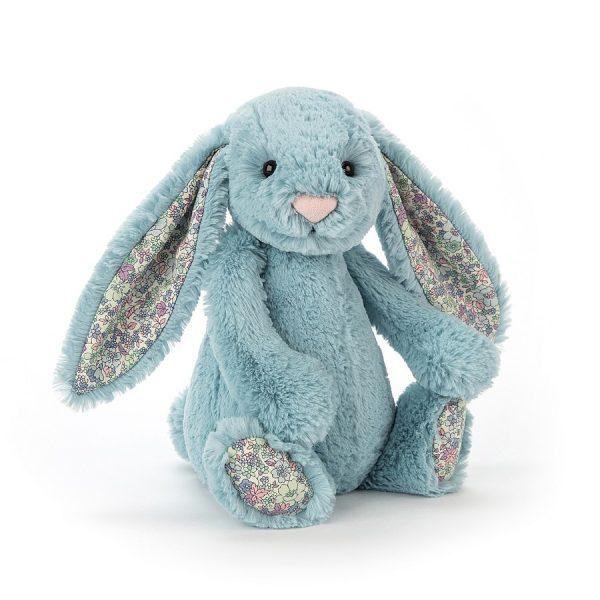 Jellycat Blossom Aqua Bunny Medium BL3AQ