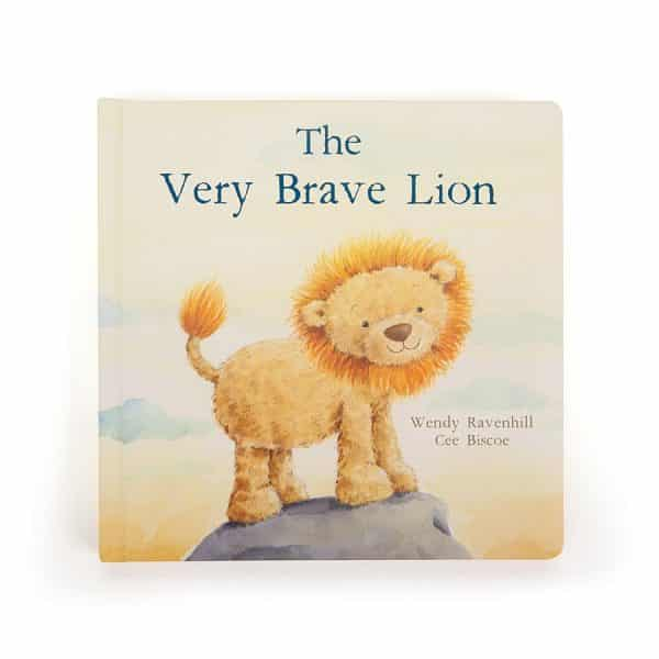 Jellycat The Very Brave Lion Book BK4BL