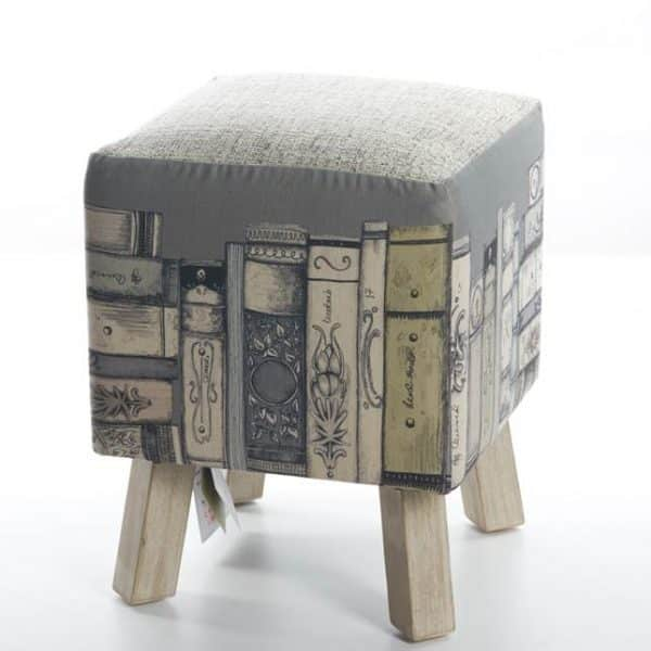 Voyage Maison Library Books Toby Footstool FS17009