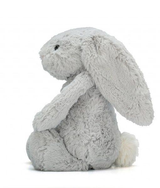 Jellycat Silver Bunny Side