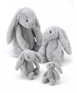 Jellycat Silver Bunny Sizes