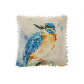 Voyage Maison Art House Cushion Dancing Kingfisher AH16009