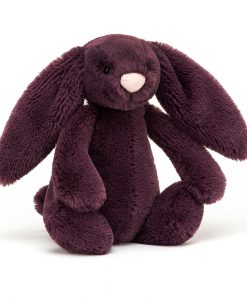 Jellycat Bashful Plum Bunny Medium BASS6PLUM