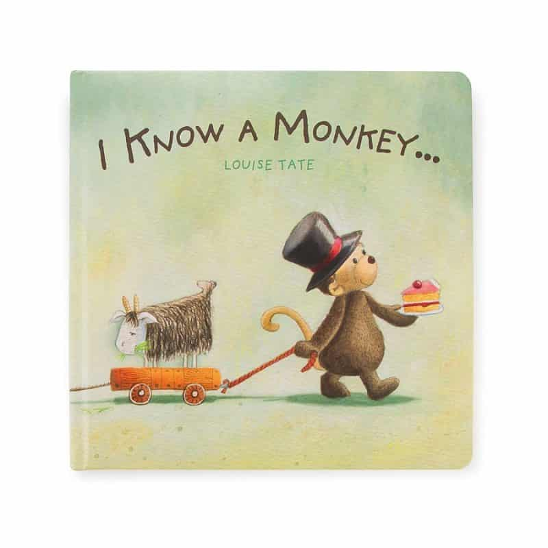 Jellycat I Know a Monkey Book BK4IKM