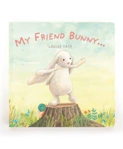 Jellycat My Friend Bunny Book BK4MFB