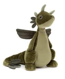 Jellycat Olive Dragon DRA2O