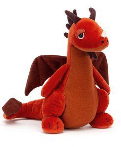 Jellycat Paprika Dragon DRA2P