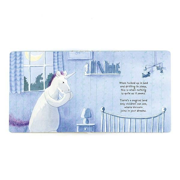 Jellycat Unicorn Dreams Book BK4UUK_1