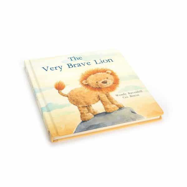 Jellycat the Very Brave Lion Book BK4BL_3