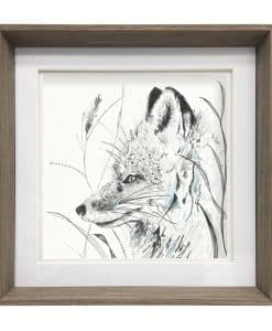 Voyage Maison Vulpes Framed Art Nut E170067 fox