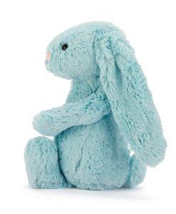 Jellycat Bashful Aqua Bunny BAS3AQ_1