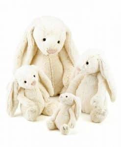 Jellycat Bashful Cream Bunny BAS3BC_3