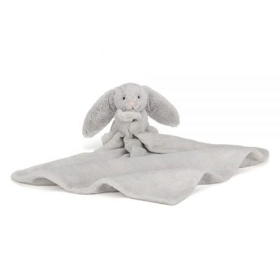 Jellycat Bashful Silver Bunny Soother SO4BS