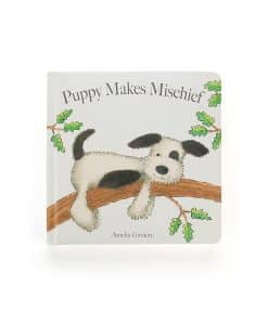Jellycat Puppy Makes Mischief Book BK4PM