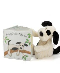 Jellycat Puppy Makes Mischief Book BK4PM_1