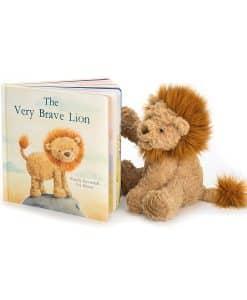 Jellycat Very Brave Lion Book BK4BL_4