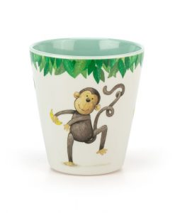 Jellyact Mattie Monkey Melamine Cup MM6MC