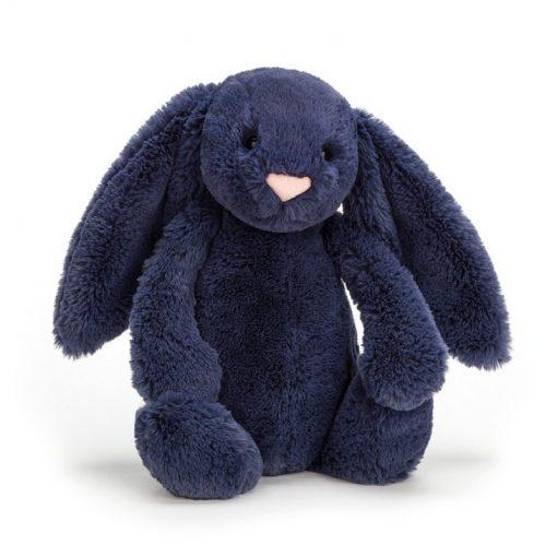 Jellycat Bashful Navy Bunny BAS3NB