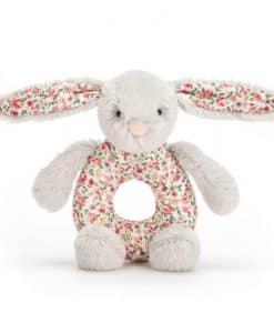 Jellycat Blossom Silver Bunny Grabber BLS6GR