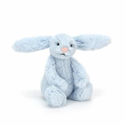 Jellycat Bshful Blue Bunny Baby BAB6BL