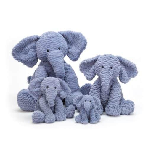 Jellycat Fuddlewuddle Elephant Family FW6EUK_3