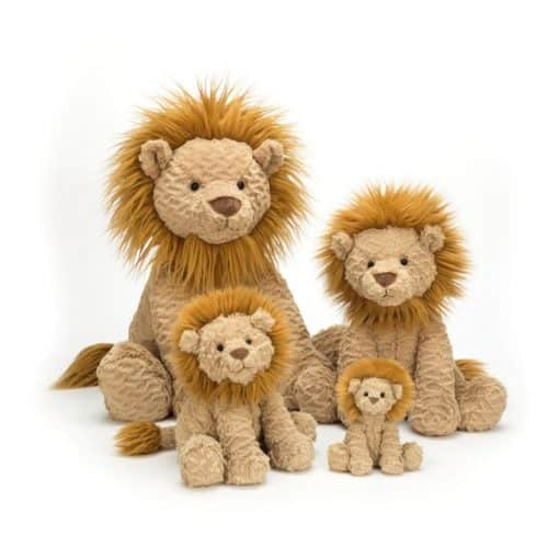 Jellycat Fuddlewuddle Lion Family FW6LN_3