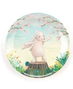 Jellycat My Friend Bunny Melamine Plate FB6MP