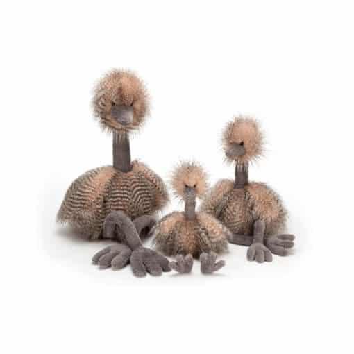 Jellycat Odette Ostrich Group