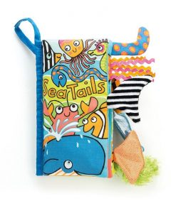 Jellycat Sea Tails Book BK4ST