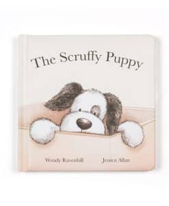 Jelycat The Scruffy Puppy Book BK4SPB