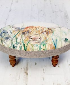 Voyage Maison Ceres Footstool Bramble View FS17042