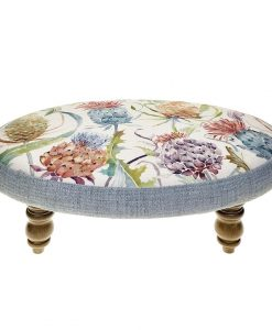Voyage Maison Ceres Footstool Meadwell Pomegranate FS17018