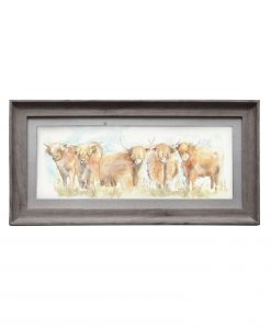 Voyage Maison Highland Cattle Framed Art E140039