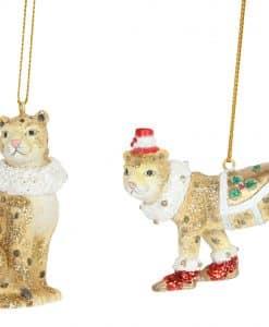 Gisela Graham Fantasy Animals Leopard Resin Dec 2as 12914