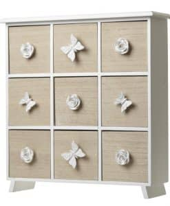 Heaven Sends 9 Drawer Cabinet With Decorative Knobs ARG034