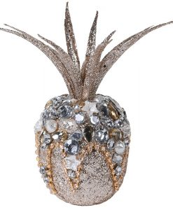 Coach House Glitter Pineapple with Beads YHT018
