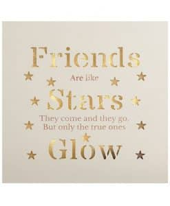 Heaven Sends Light Up Plaque - Friends, Stars, Glow ATH001