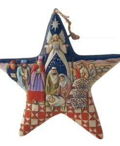 Nativity Star (Hanging ornament) 4010627