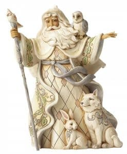 One Love For All (White Woodland Santa with Cane) 4053686