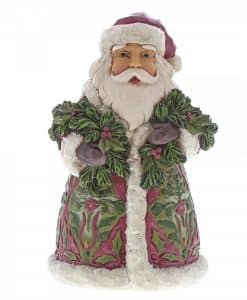 Santa's Coming (Victorian Santa with Evergreen) 6001430